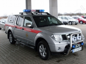 Nissan Navara for Fire Brigade