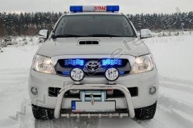 Toyota Hilux for Fire Brigade