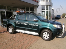 Toyota Hilux for Airport Security