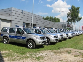 Nissan Pathfinder – Polizei