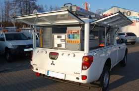 Mitsubishi L200 fleet - canopy for energy industry - PGE