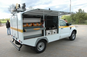 Ford Ranger fleet - canopy for energy industry - ENEA