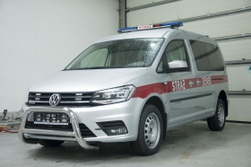 Volkswagen Caddy - straż pożarna
