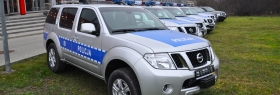Nissan Pathfinder for police